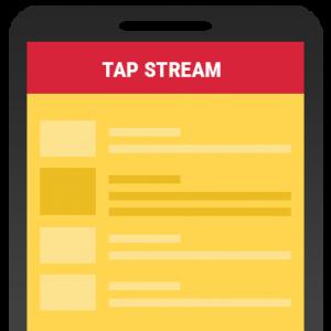 tap-stream