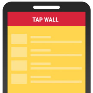 tap-wall